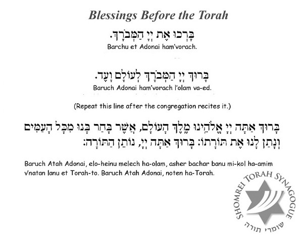 Blessings Before the Torah